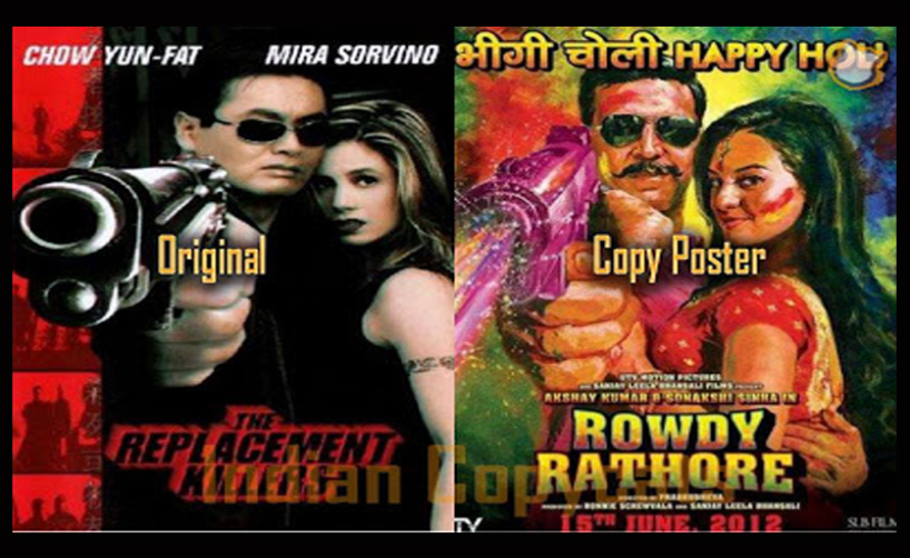 Top 12 Bollywood Movies Posters Shamelessly Copied From Hollywood
